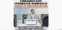 Farrakhan says interracial marriage is wrong with God