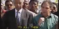 Nelson Mandela sings about killing whites